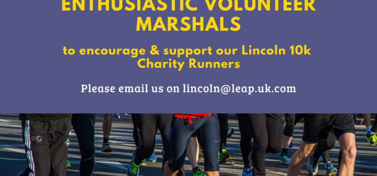 LEAP to victory as a Volunteer Supporter at Lincoln 10K